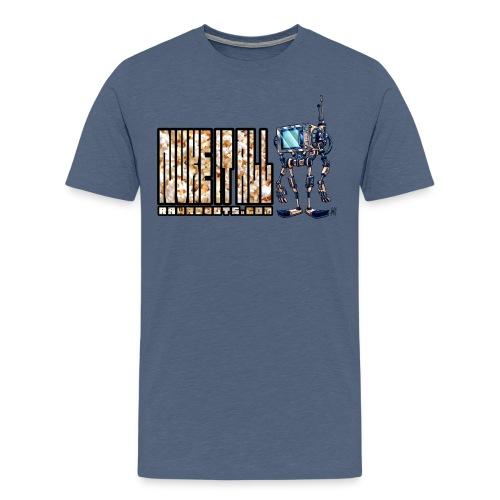 Nuke It All! 💥🍿 - Men's Premium T-Shirt