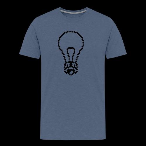 lightbulb by bmx3r - Men's Premium T-Shirt