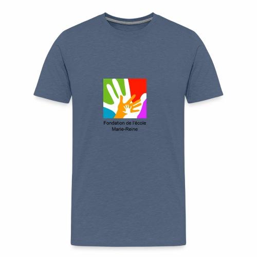 Logo fondation École Marie-Reine - T-shirt premium pour hommes