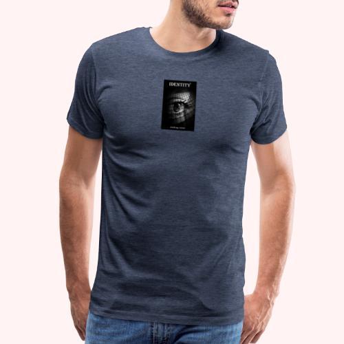 Identity by Anthony Avina Book Cover - Men's Premium T-Shirt