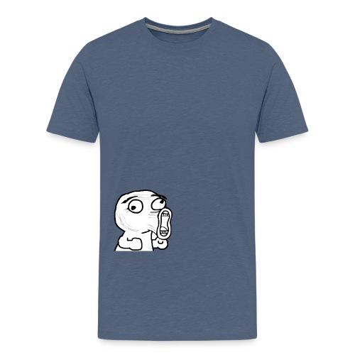 scream - Men's Premium T-Shirt