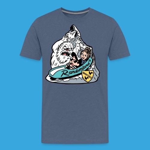 Swiss Yeti Shirt - Men's Premium T-Shirt