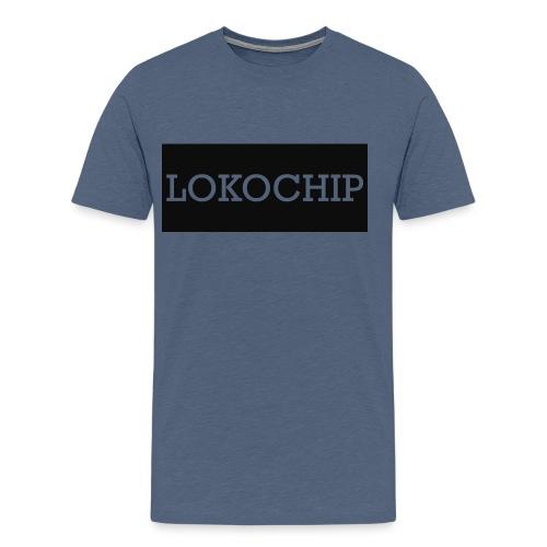 LOKOCHIP SHIRT LOGO - Men's Premium T-Shirt