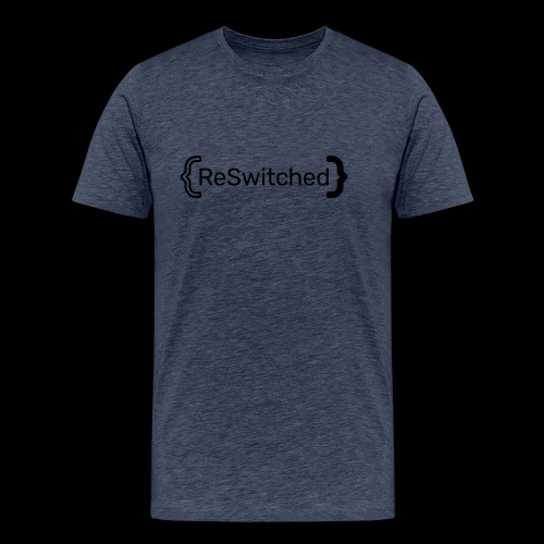 full black reswitched bmx3r - Men's Premium T-Shirt