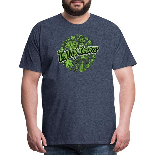 Green Over The Top TTK - Men's Premium T-Shirt