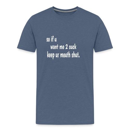 Bulletin Board Material b - Men's Premium T-Shirt