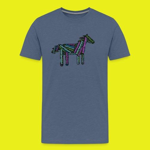 Entertainment Horse - Men's Premium T-Shirt