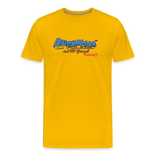 DuckmanCycles and VWGarage - Men's Premium T-Shirt