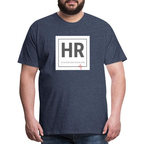 HR - HighRiskFashion Logo Shirt - Men's Premium T-Shirt