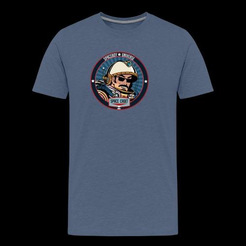 Spaceboy - Space Cadet Badge - Men's Premium T-Shirt
