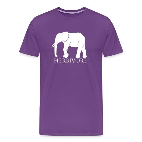 Herbivore Elephant - Men's Premium T-Shirt