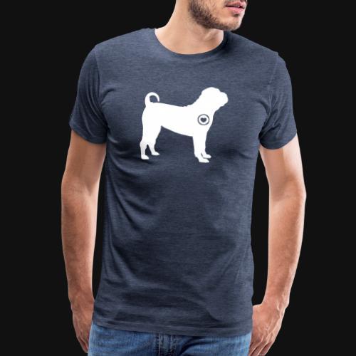 Shar Pei love - Men's Premium T-Shirt