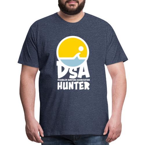 DSA Hunter - Light Logo - Men's Premium T-Shirt