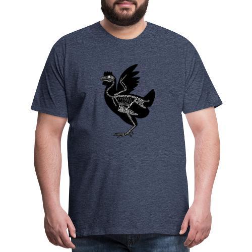 Skeleton Chicken - Men's Premium T-Shirt