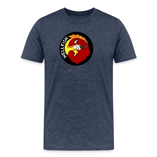 Hellfish - Flying Hellfish - Men's Premium T-Shirt