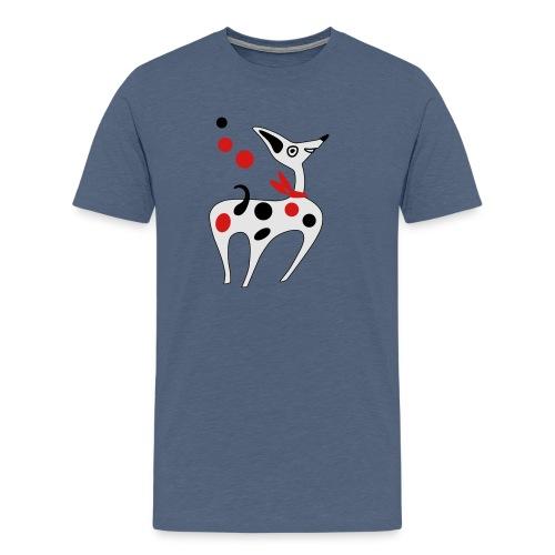 Funny puppy - Men's Premium T-Shirt