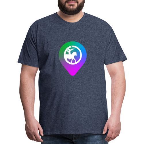 KC2Go Map Point - Men's Premium T-Shirt