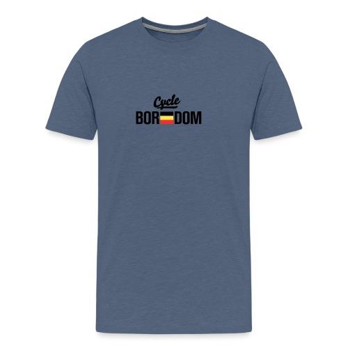 Belgian E-Flag - Men's Premium T-Shirt