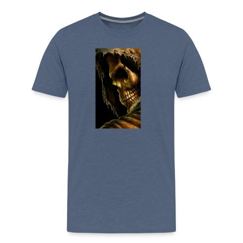 99798 skull 498 - Men's Premium T-Shirt