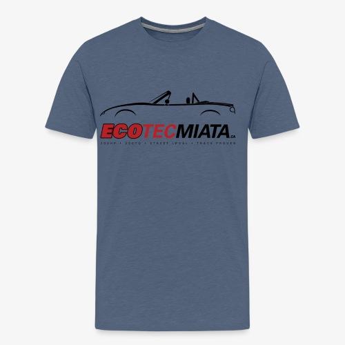 Ecotec Miata Logo - Men's Premium T-Shirt