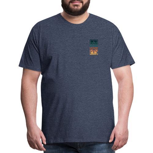 Ventures Belong To The Adventurous    VAN LIFE - Men's Premium T-Shirt