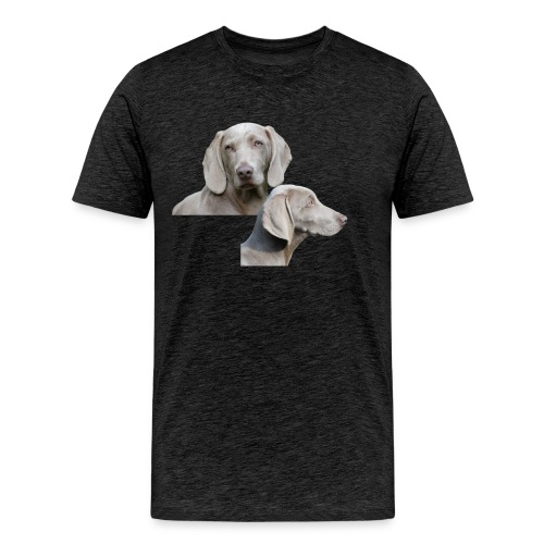 Weimaraner dog - Men's Premium T-Shirt