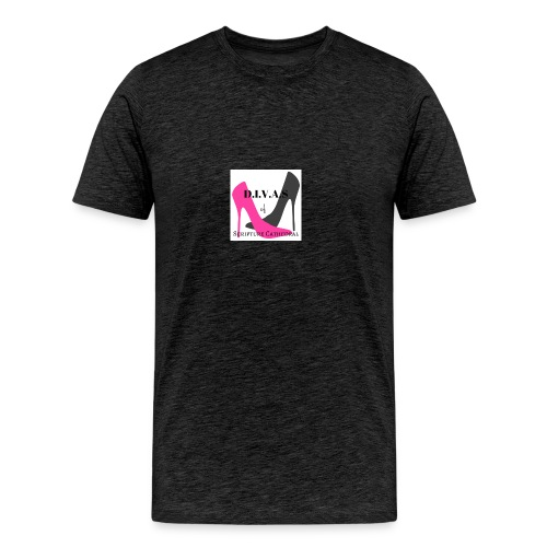 Divinely Inspired Victorious and Serving - Men's Premium T-Shirt
