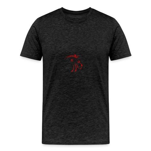 Lion Pin - Men's Premium T-Shirt