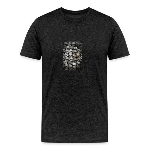 Skulls design - Men's Premium T-Shirt