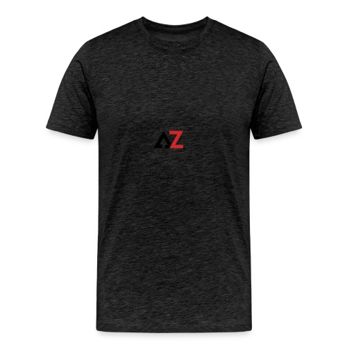AZ Management logo - Men's Premium T-Shirt