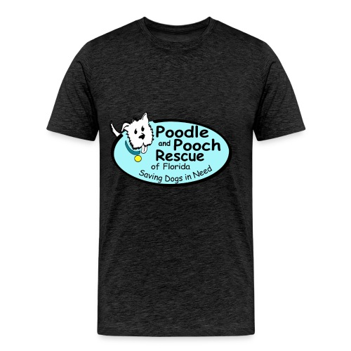 Poodle and Pooch Logo - Men's Premium T-Shirt