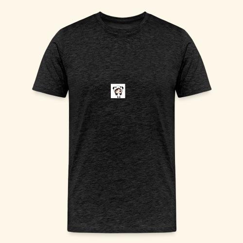 panda girl - Men's Premium T-Shirt