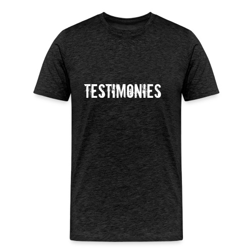 Testimonies Shirt - Men's Premium T-Shirt
