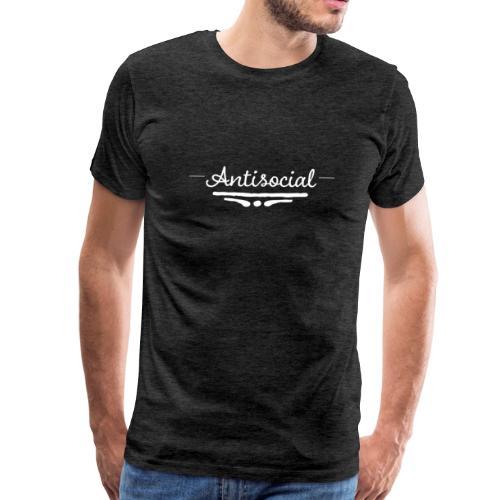 -Antisocial- - Men's Premium T-Shirt