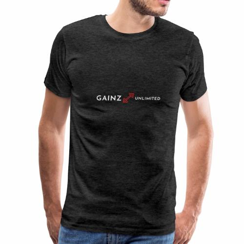 Gainz unlimited - Men's Premium T-Shirt