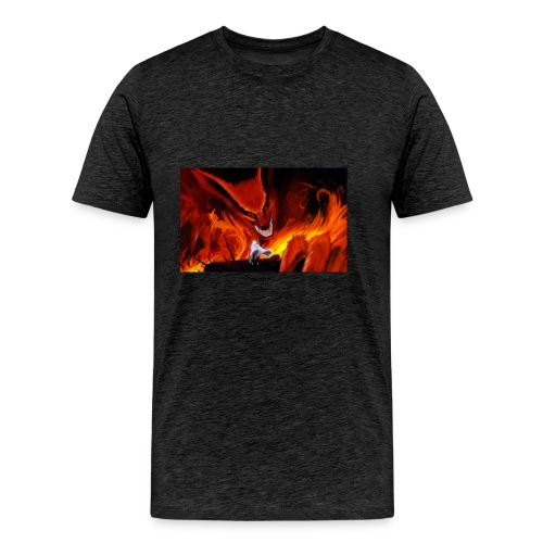 kyubi and naruto - Men's Premium T-Shirt