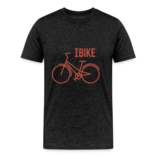 I Bike - Men's Premium T-Shirt