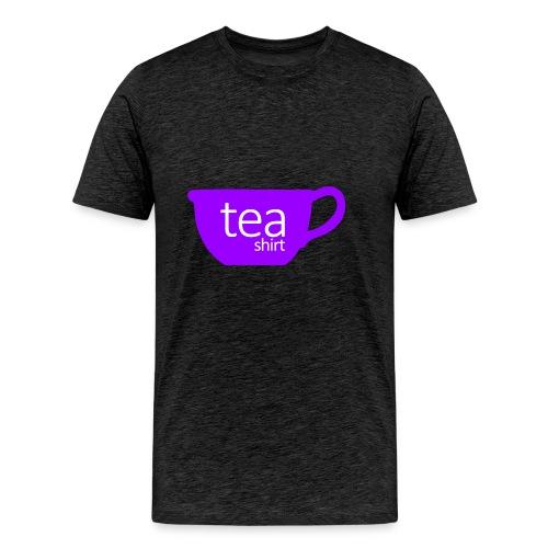 Tea Shirt Simple But Purple - Men's Premium T-Shirt