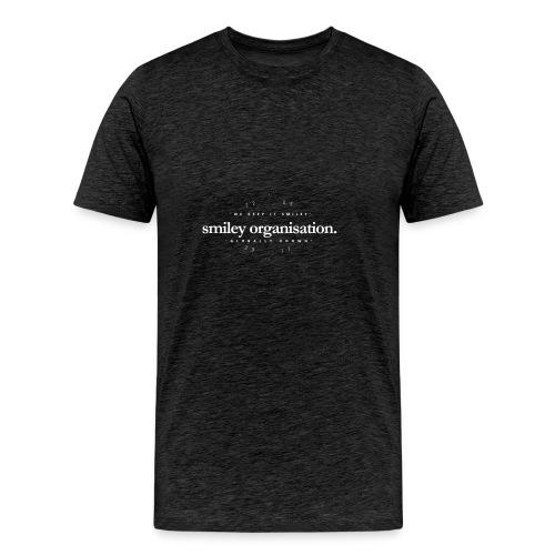 Smiley Since Sticker - Men's Premium T-Shirt