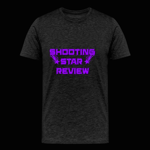Shooting Star Review Purple Logo - Men's Premium T-Shirt