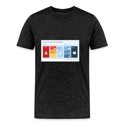 6806 01 business excellence model efqm 9 - Men's Premium T-Shirt