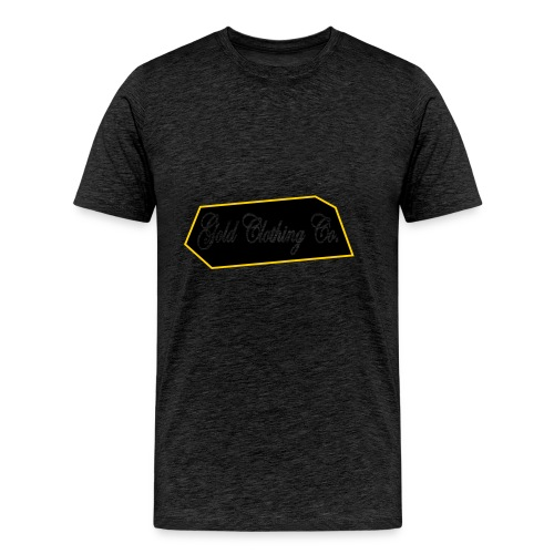 GOLD Clothing Co. Brick Logo - Men's Premium T-Shirt