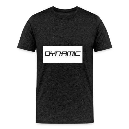 Dynamic Kids White Logo! - Men's Premium T-Shirt