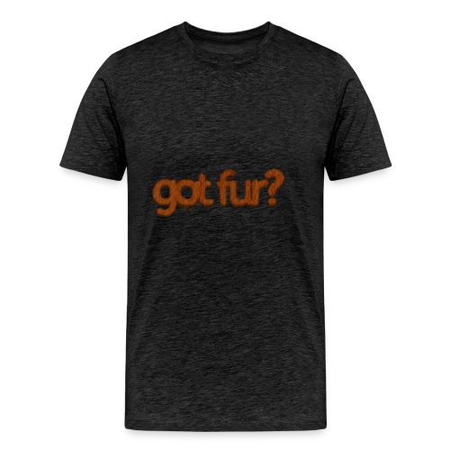got fur?-Furry Fun-Gay Bear Pride-Kodiak Bear - Men's Premium T-Shirt