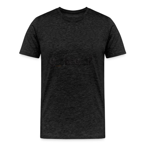 got beard?-Furry Fun-Bear Pride-Black Bear - Men's Premium T-Shirt