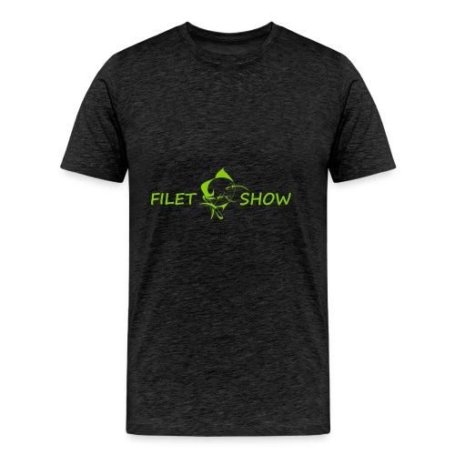 Green_logo_for_shirts - Men's Premium T-Shirt