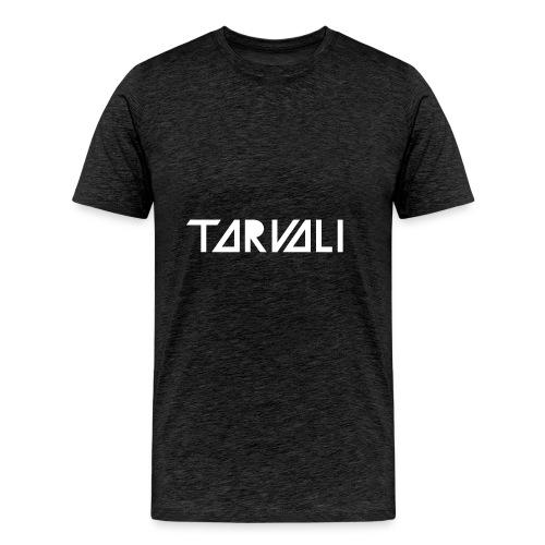 Tarvali White Logo - Men's Premium T-Shirt