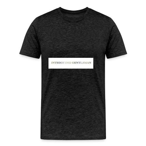 Intriguing Gentleman Tee - Men's Premium T-Shirt
