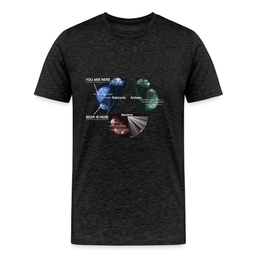 Beer is here: Tree of Life - Men's Premium T-Shirt