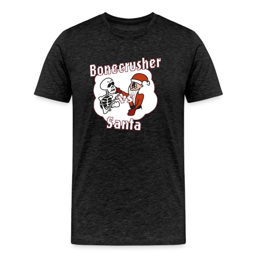 Bonecrusher Vs. Santa - Men's Premium T-Shirt